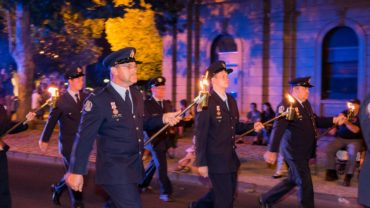VFBV Torchlight Parade Bendigo 2015 VFBV Torchlight Parade