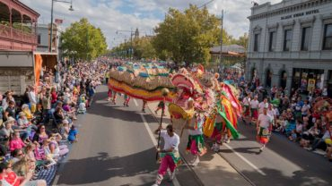 Easter Gala Parade 2015 NEXUS Bendigo Youth Theatre