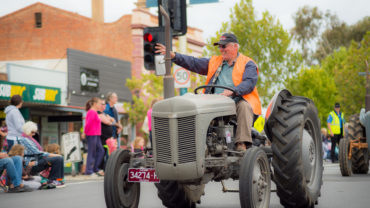 Dahlia and Arts Festival Parade 2016 bendigo community health services