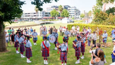 Bendigo Scots Day Out 2017 sing australia choir