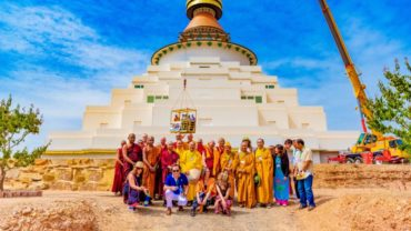 The Great Stupa Launch great stupa of universal compassion