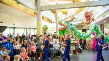 Chinese New Year Bendigo Library Central Victorian Lion Team